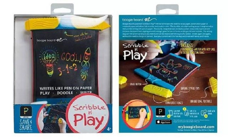 Boogie Board Scibble n' Play 兒童彩色手寫塗鴉板