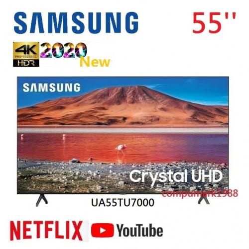 Samsung 55'' TU7000 4K UHD 智能電視 2020 (UA55TU7000)