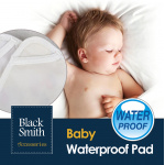 Black Smith 嬰兒高透氣防水防塵蟎床墊 [藍色]