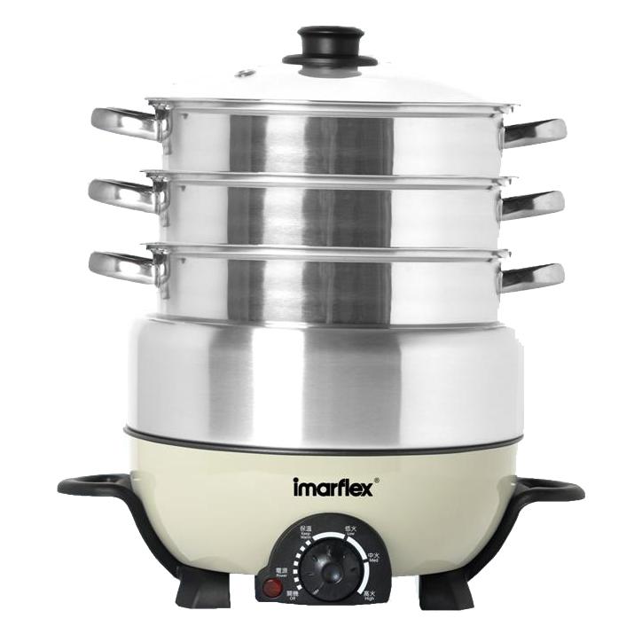 Imarflex 鮮料理蒸煮火鍋 IMC-30D/ IMC-50D [2容量]