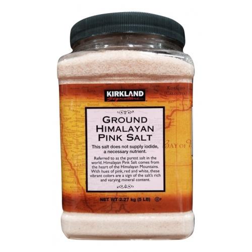 KIRKLAND 100%純天然喜馬拉雅山粉紅幼鹽 [5磅]