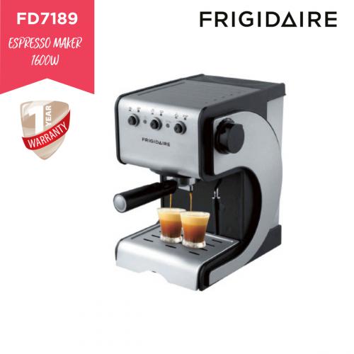 Frigidaire 特濃咖啡機 FD7189 送 FD5105B 6段速手提攪拌器 [黑色]