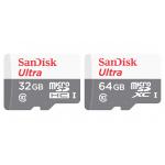 SanDisk ULTRA microSD UHS-I 記憶卡 [32/64GB]