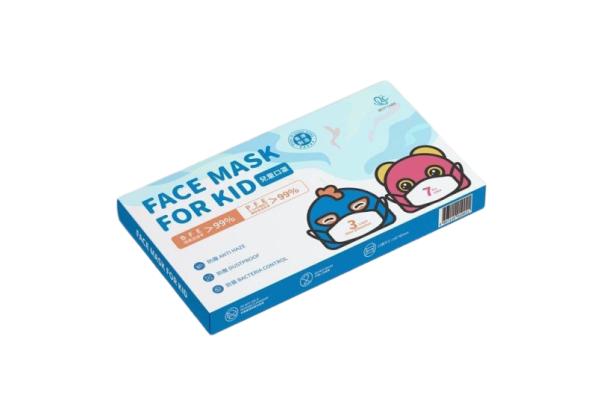 香港製 Best Care 兒童口罩 [3盒裝, 7片/盒]
