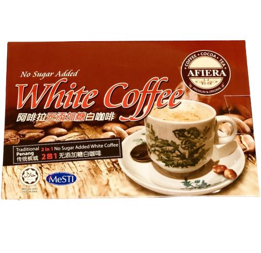 阿啡拉檳成無糖白咖啡2合1 [12包]