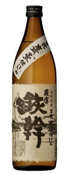 日本鹿児島芋焼酎鉄幹白焼酎 [720ml]