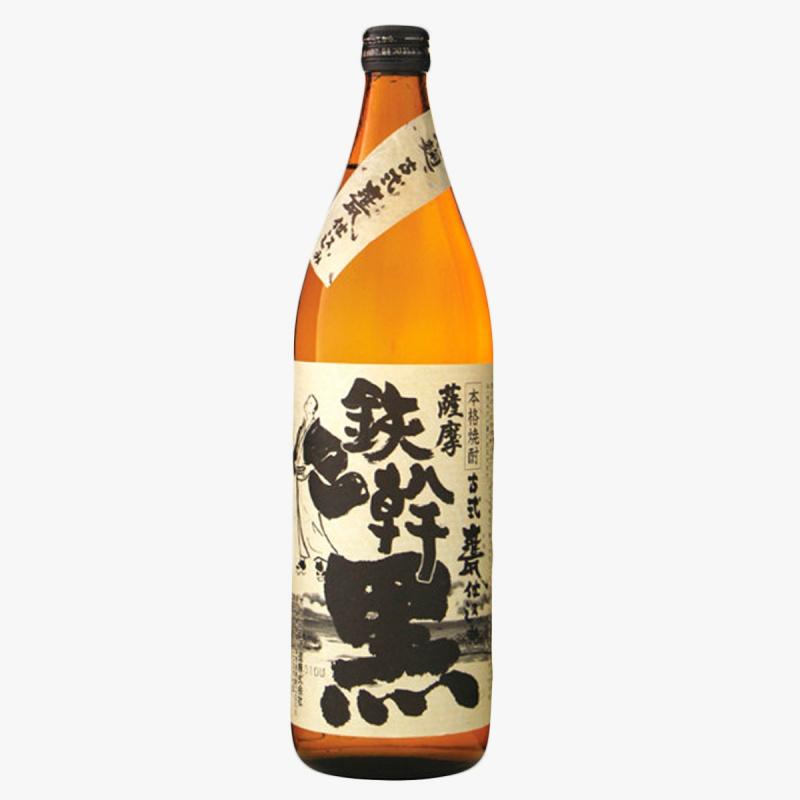 日本鹿児島芋焼酎鉄幹黒焼酎900ml
