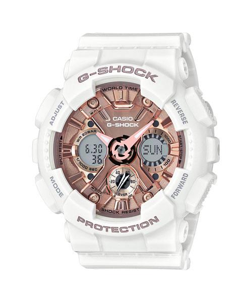 Casio G-Shock S Series GMA-S120MF-7A2 女裝膠帶手錶
