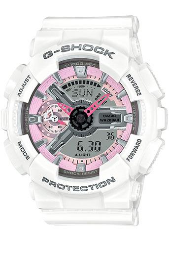 Casio G-Shock GMA-S110MP-7A 女裝膠帶手錶