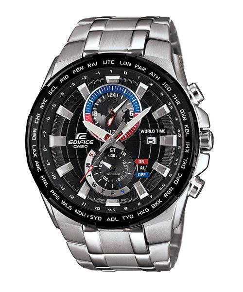 Casio Edifice EFR-550D-1A 男裝鋼帶手錶