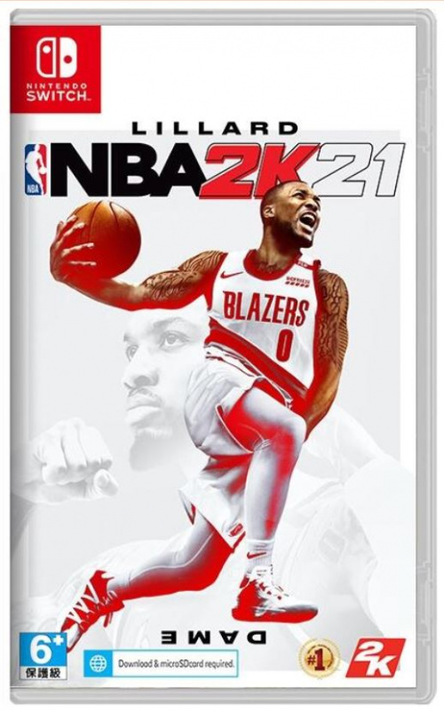 Nintendo Switch NBA 2K21 [中英文版]