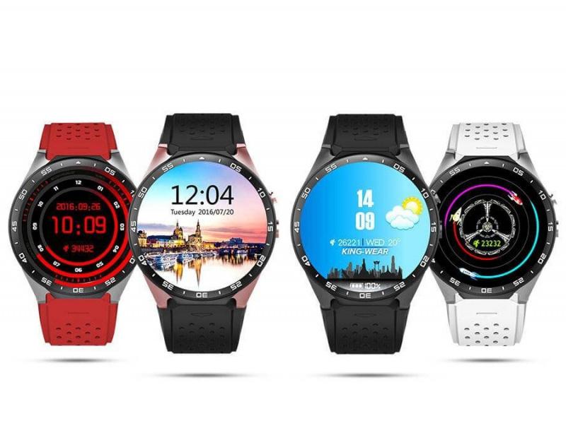 King Wear KW88 智能手錶 [送錶面貼] [4色]