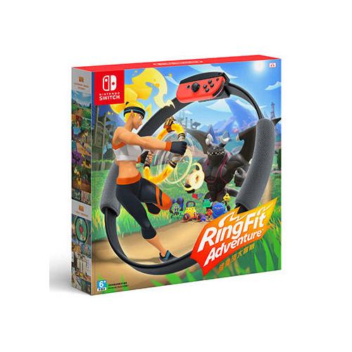 Nintendo Switch RingFit Adventure 健身環大冒險 [中英日文版]