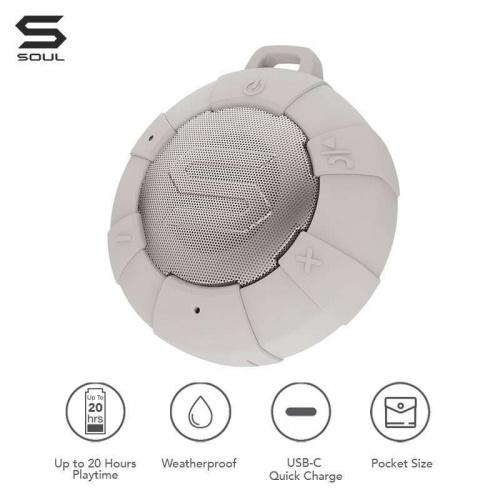 Soul S-Storm IP68 防水無線藍牙喇叭 [3色]