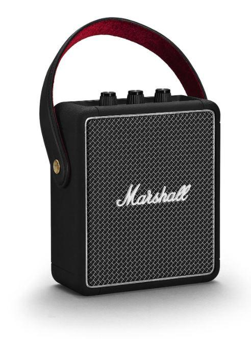 Marshall Stockwell II 攜帶式藍牙喇叭 [黑色] 送 iHome iBTW23 藍牙立體聲雙鬧鐘乙個