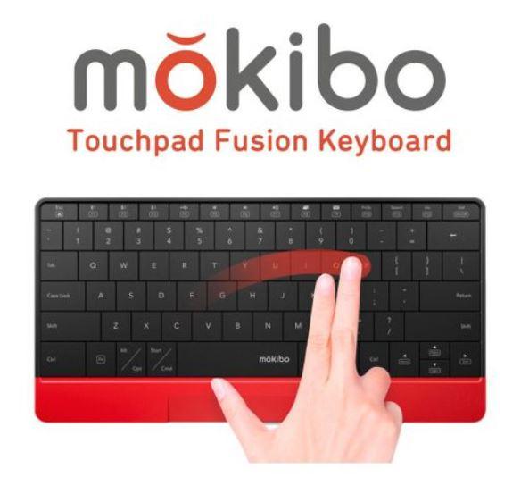 韓國 Mokibo 2合1 觸控版連無線鍵盤