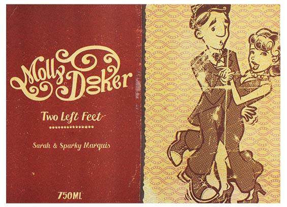 Mollydooker Two Left Feet Shiraz Merlot Cabernet 2016 乾紅酒 750mL [12枝裝] - 1237956*12