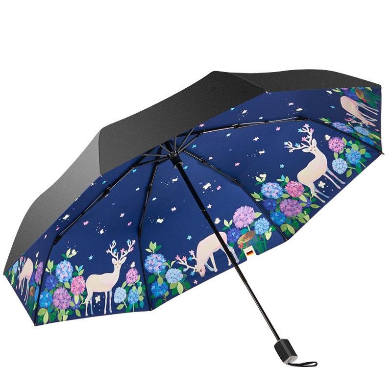 boy BY3022 三折防紫外線摺疊雨傘 [禮盒裝] [3款]