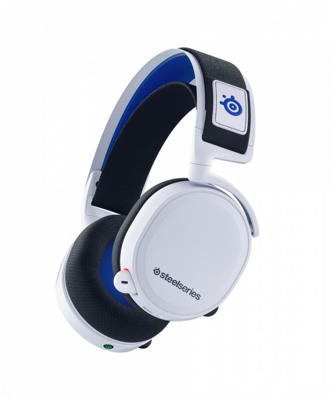 Steelseries Arctis 7P 無線遊戲耳機 [白色]