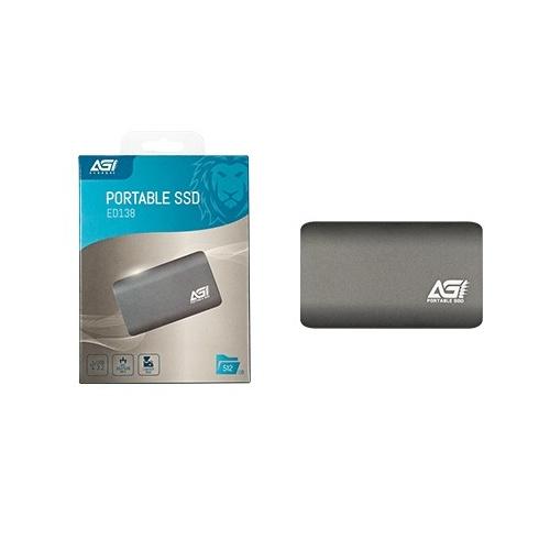 AGI ED138 USB3.2 Gen2 攜帶式SSD [512GB/1TB]