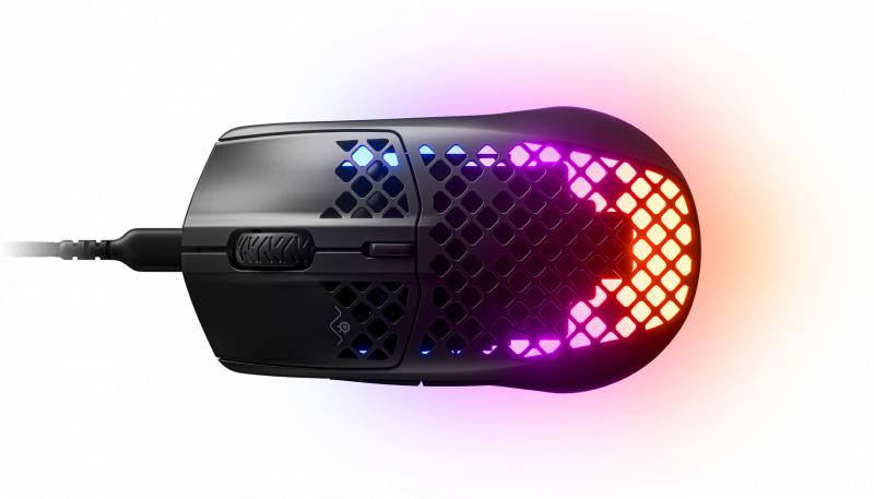 SteelSeries AEROX 3 光學有線遊戲滑鼠