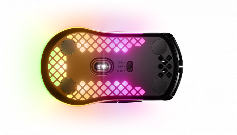 SteelSeries AEROX 3 無線光學遊戲滑鼠