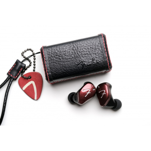 Fender TOUR 全無線入耳鑑聽耳機 + 皮革充電盒訂製服務
