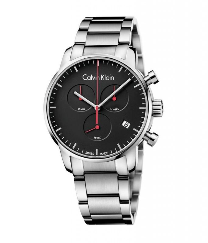 Calvin Klein City 系列男裝計時手錶K2G2714N K2G27141 K2G27146