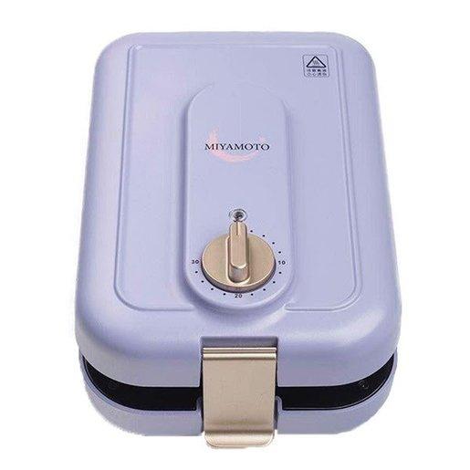 Miyamoto 三文治機[紫色] (附送3套烤盤)