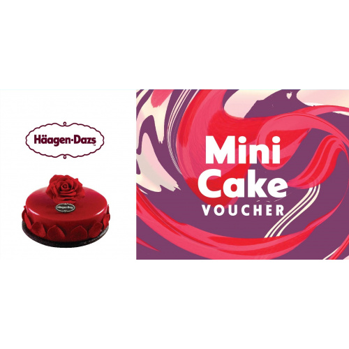 Häagen-Dazs™ - Mini Size 雪糕蛋糕禮券 [有效期至2022年2月28日]