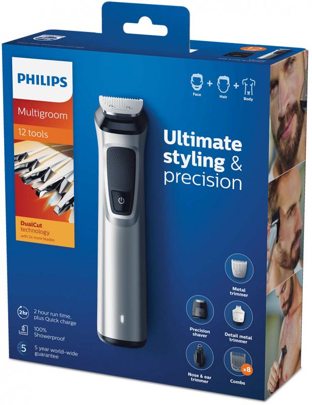 Philips MG7710 Multigroom Series 7000 12合1男士造型套裝