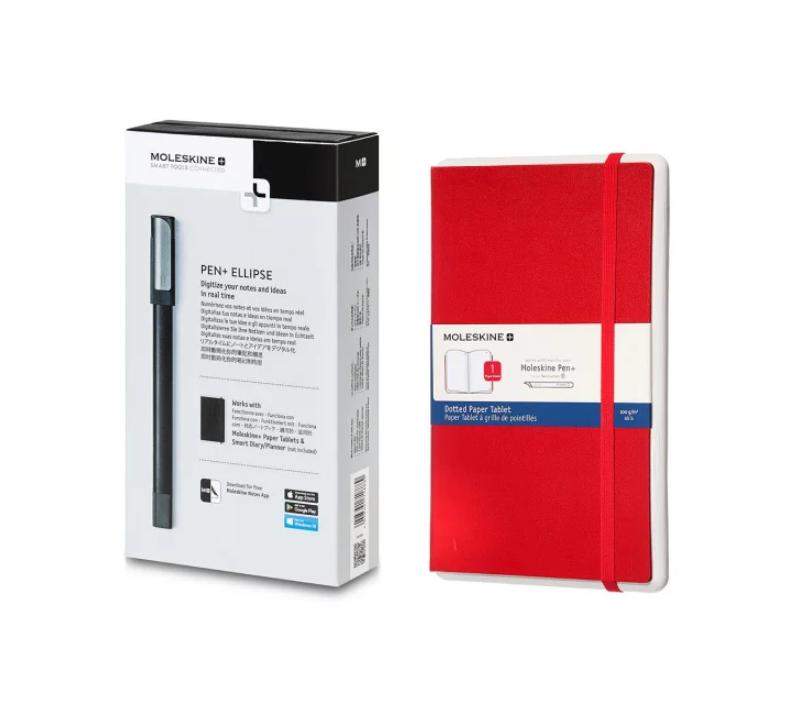 Moleskine Pen+Ellipse智能書寫筆 + Paper Tablet N°2 觸點感應替換本套裝