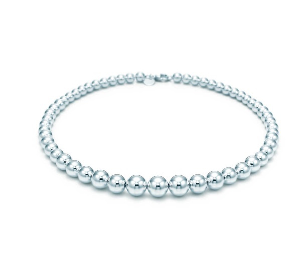 Tiffany Hardwear 漸層圓球頸鏈 16.25'' (10579325)
