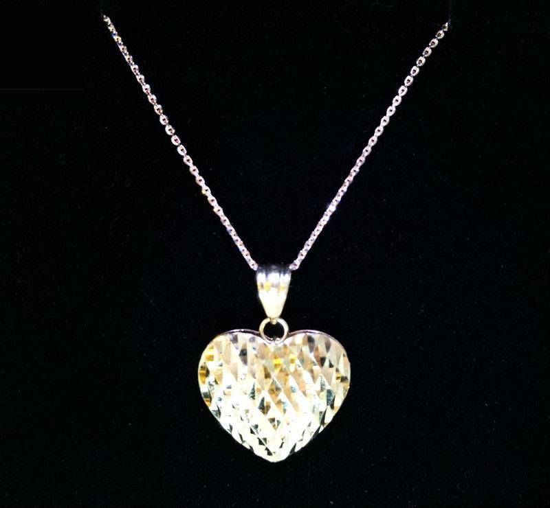 MJ Diamond《意大利金錬》- 系列 18K Heartbeat 心跳回憶 意大利鏈墜套裝