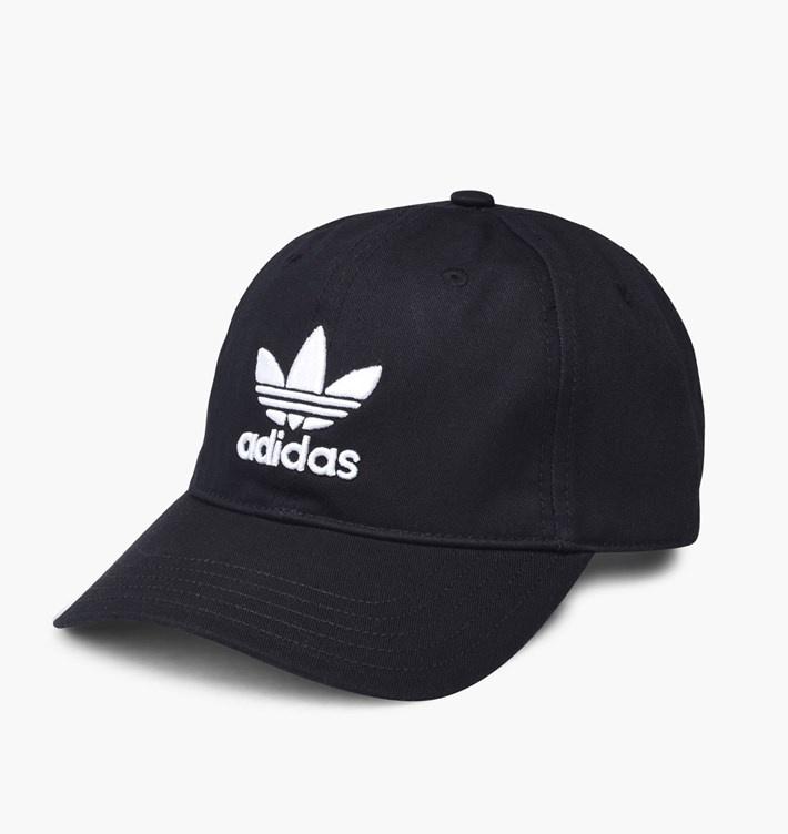 Adidas Trefoil Cap 男女裝帽 [黑色]
