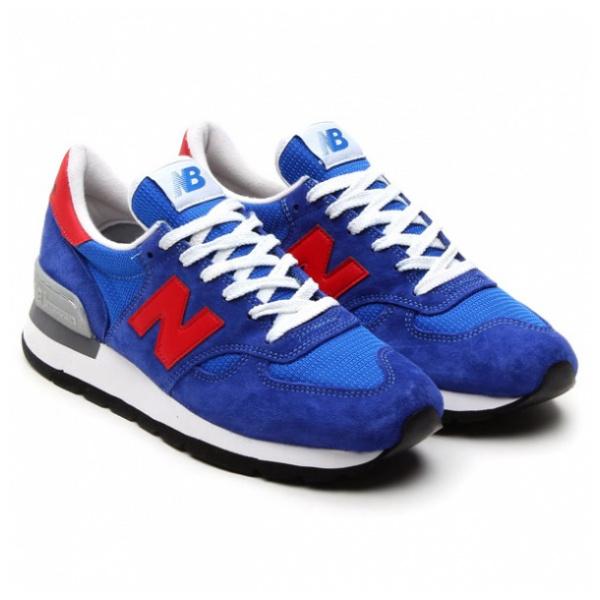 New Balance M990 男裝鞋 [藍色]