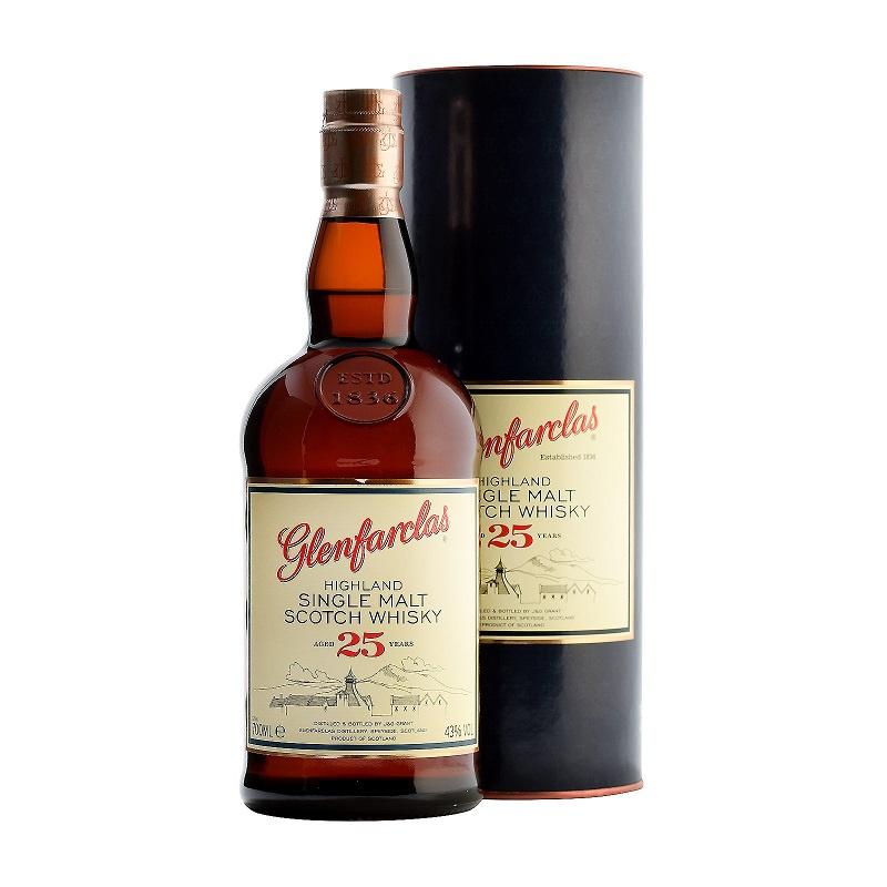 Glenfarclas 25 Year Old Single Malt 威士忌 700mL