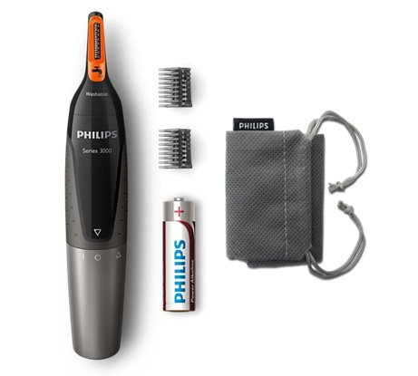 Philips Series NT3160 舒適的鼻毛、耳毛及眉毛修剪器