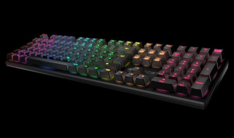 ROCCAT Suora FX (RGB) Blue 無框青軸機械鍵盤