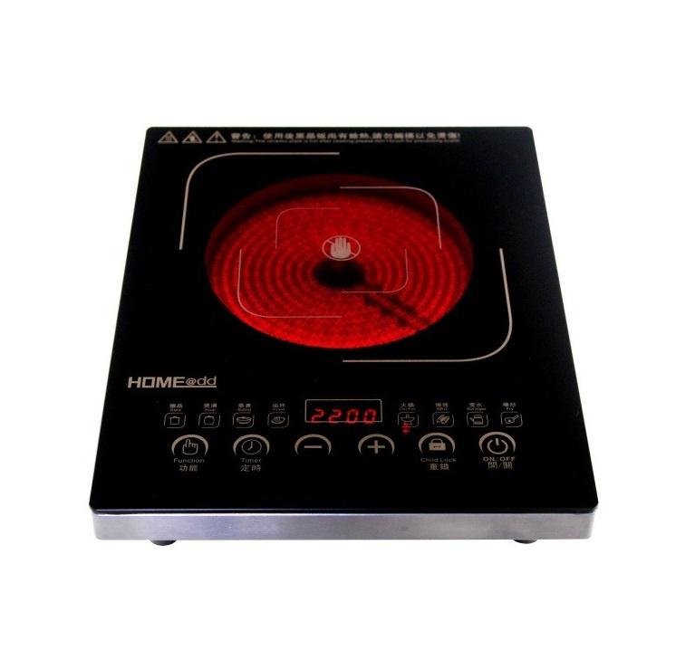 HOME@dd® HJ18 超薄簡約型 智能觸控不鏽鋼電陶爐