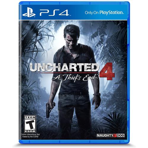 PS4 Uncharted 4 盜賊末路 (中英文合版)