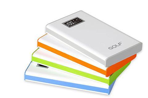 Golf 8000mAh LCD液晶顯示移動電源 [4色隨機]