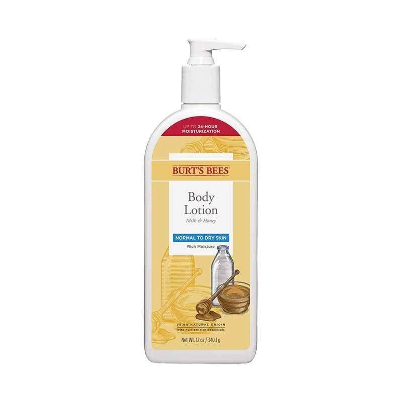 Burt's Bees Milk & Honey Body Lotion Normal to Dry Skin 340g