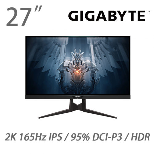 "GIGABYTE FI27Q-P AORUS 27"" 2K HDR電競螢幕 【家電家品節】【附送PriceCare維修保障】"
