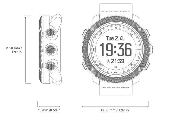 Suunto Traverse Alpha 野外GPS腕錶 [3色]