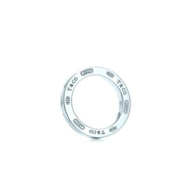 Tiffany 1837 大號圓圈鍊墜 16'' (24600882)