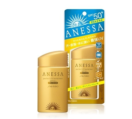 Shiseido Anessa 超防水美肌UV乳液 SPF50+ PA++++ [60mL]