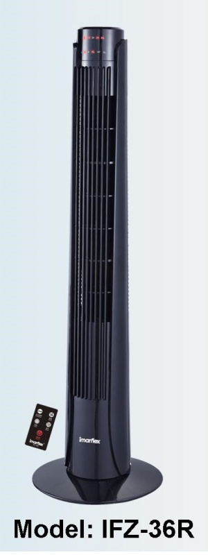Imarflex IFZ-36R 36吋輕觸式遙控直立風扇