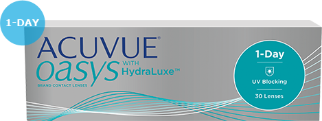 Acuvue® OASYS® 1-DAY 每日拋棄型隱形眼鏡