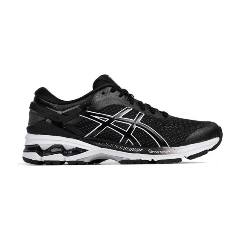 Womens Asics Gel Kayano 26 'Black White' Black/White女子 WMNS跑步鞋/運動鞋 (1012A457-001) 海外預訂